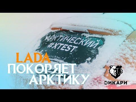 LADA покоряет Арктику / #LADA #Дикари