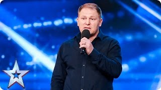 Is it time for Richard Taylor to give up the day job? | Auditions Week 1 | Britain's Got Talent 2017