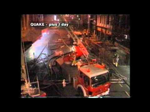 Wellington 1996 Quake Doco - slips, water, fire and collapse ...