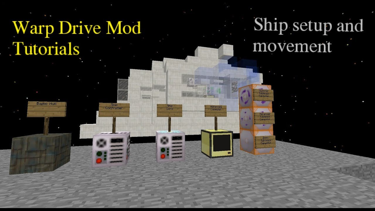 WarpDrive - Mods - Minecraft - CurseForge