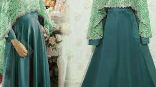 Model Baju Gamis Pesta Dan Lebaran 2018   081213381472