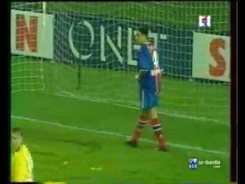 Psg 4 2 bastia demi finale de la coupe de la ligue 1999 - Coupe de la ligue demi finale ...