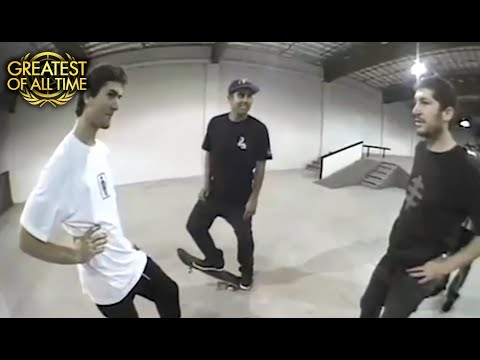 Eric Koston Vs. Mike Mo | The First Battle At The Berrics