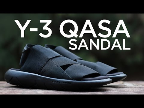 43e0e34ef8e66 Closer Look  Y-3 Qasa Sandal - YouTube