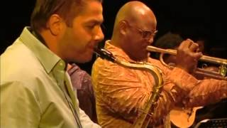 "Fra Fra Big Band ""La Plus Belle Africaine"" Gent Belgium 2012"