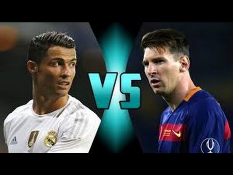 Cristiano Ronaldo vs Lionel Messi player football the best in the world -U.F Videos