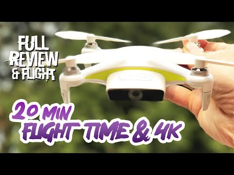 DJI Spark Competitor with 20min flights & 4K! - SUNLY ALPHA CAM Review