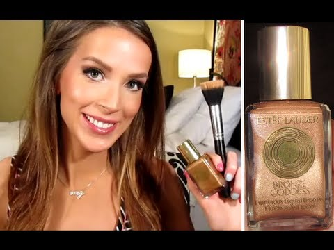 Estée Lauder Bronze Goddess Luminous Liquid Bronzer Review & Demo/Tutorial (+outtakes!) thumbnail