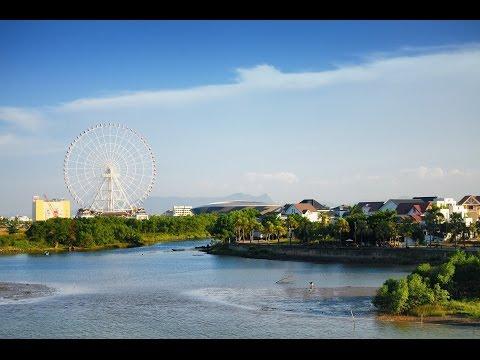 One day in Danang city, Vietnam
