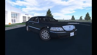 Roblox Greenville - My New Admin Car