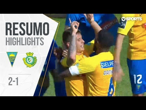 Highlights | Resumo: Estoril 2-1 V. Setúbal (Liga 17/18 #33)