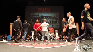 Beast Docious Kingz vs Melting Force // .BBoy World // BREAKING 3on3 | MEAUX BATTLE 2013