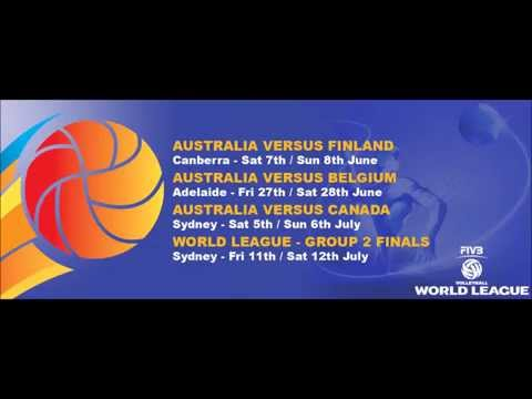 World League - Canberra round