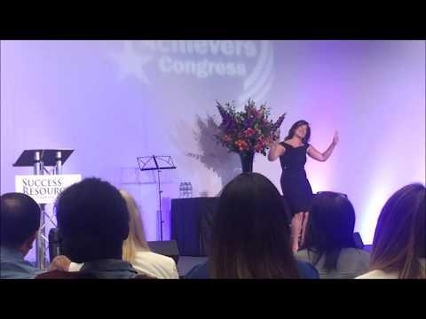 RARE footage of Randi Zuckerberg  at the National Achievers Congress 2017 London