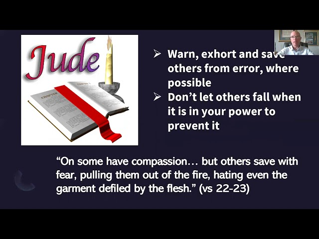 HTC Bible Study, The Letter of Jude, session 4