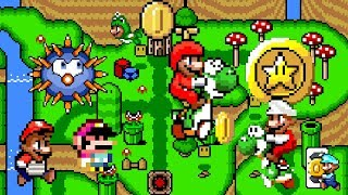 Super Mario Endless World • Awesome and New Hack of Super Mario World