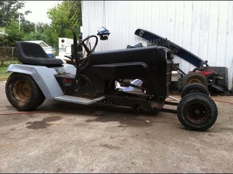 10 1 13 Rat Rod Mower Update It S Alive Youtube