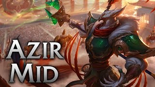 Warring Kingdoms Azir Mid - League of Legends Commentary