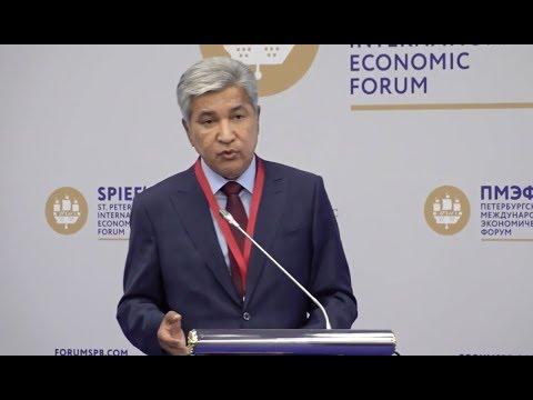 Выступление Посла РК в РФ Имангали Тасмагамбетова на ПМЭФ-2018