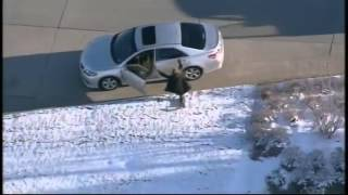 RAW: Chase after Driver Steals SUV with Child Inside