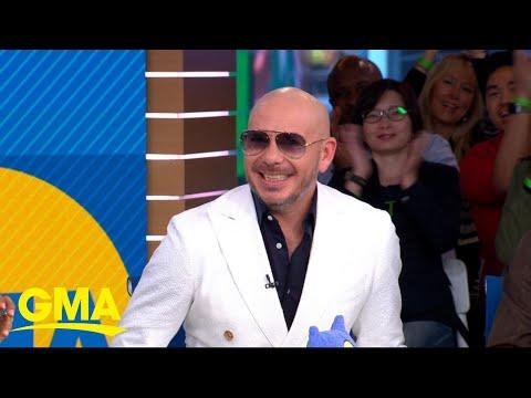 Pitbull opens up