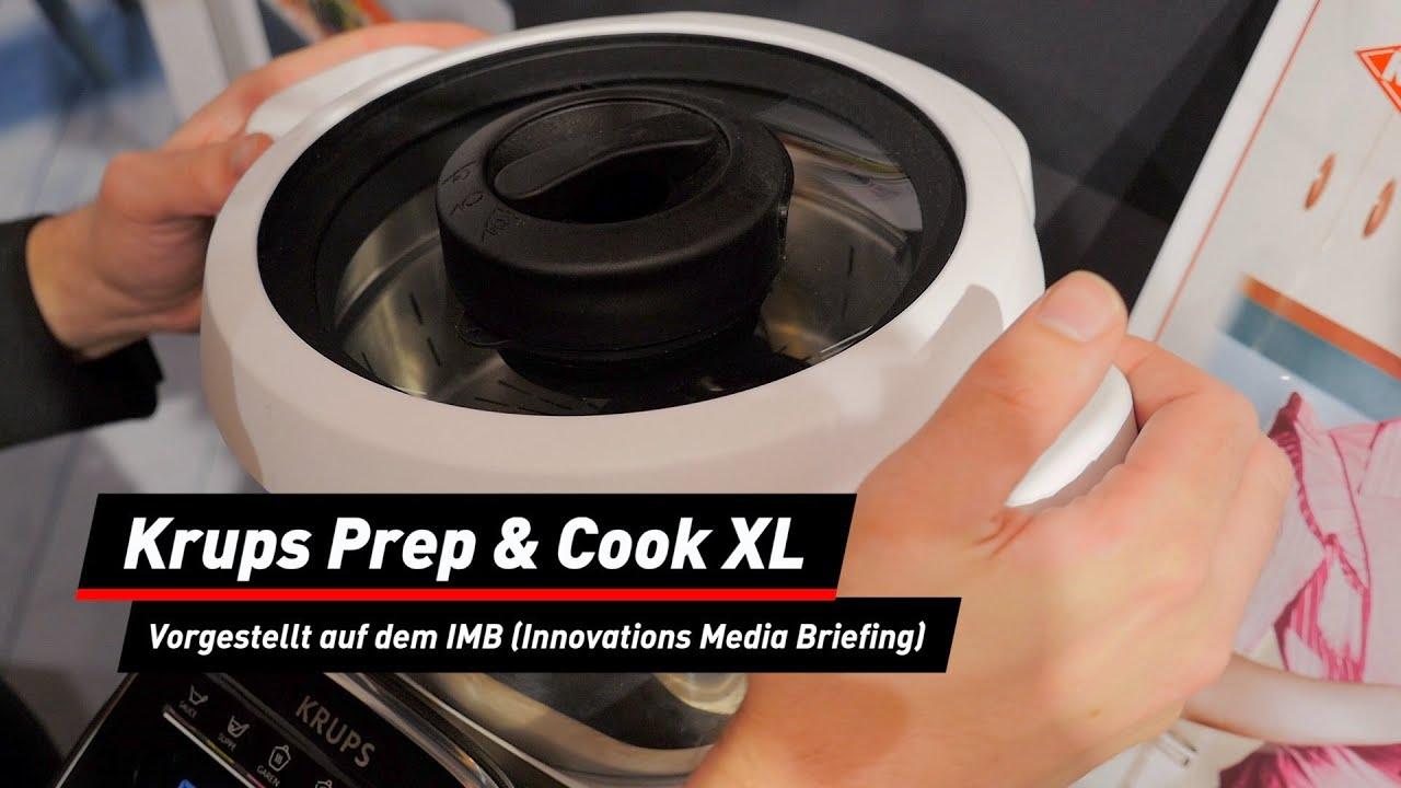 Erneuerte Küchenmaschine: Krups Prep & Cook XL