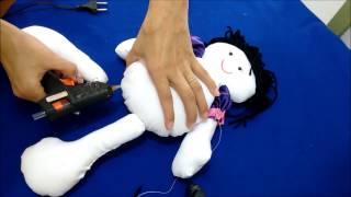 como fazer boneca de pano boneca maria alessandra diy faça vovê mesmo