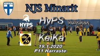 NJS Minarit P11 HyPS Valkoinen vs KeiKa 19.1.2020