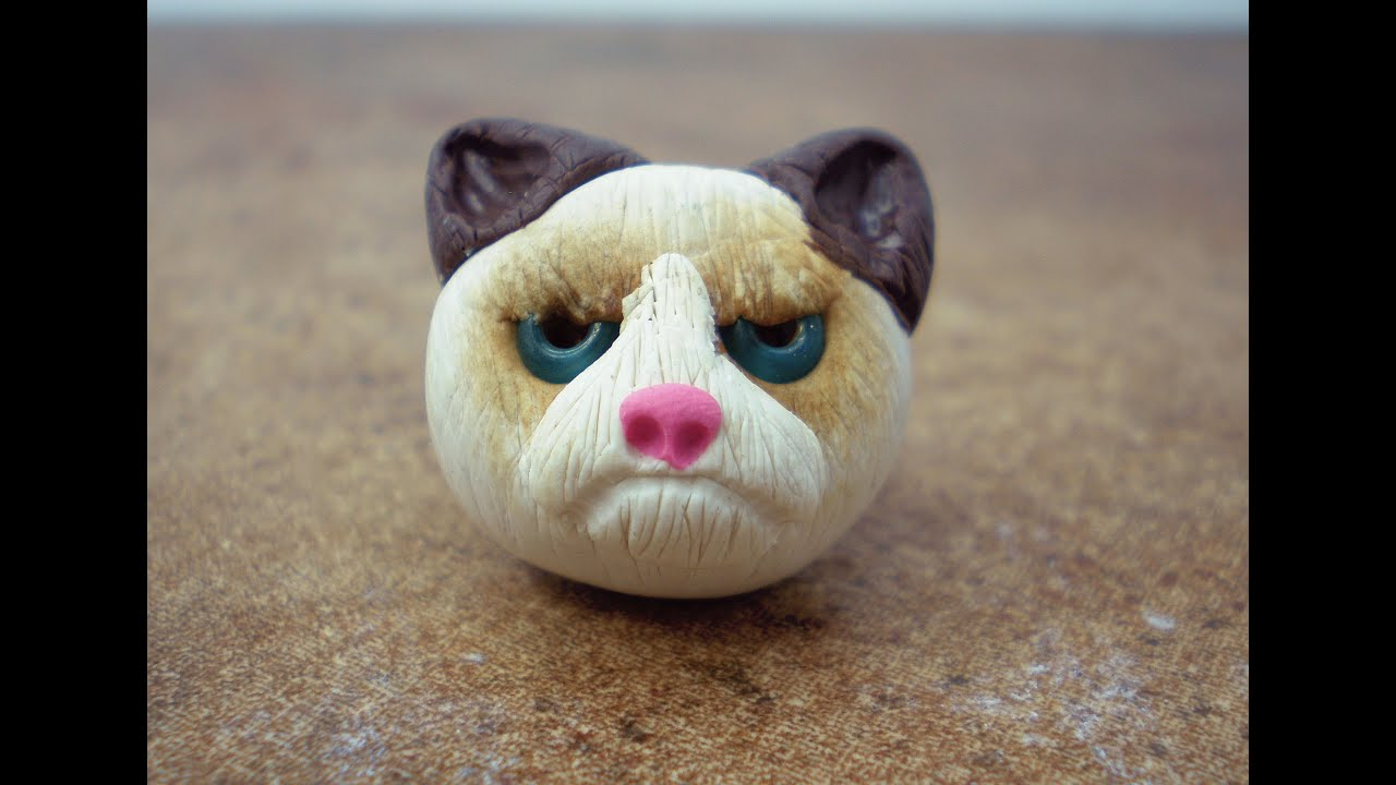 Watch How to Make a Clay Cat video
