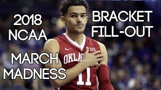 2018 NCAA March Madness Bracket Predictions