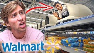 HIDE AND SEEK IN WALMART! (if found, get slapped)