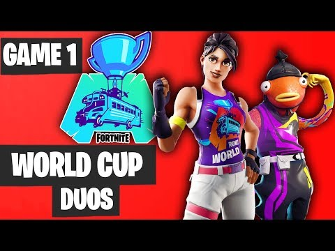 Fortnite World Cup DUO Game 1 Highlights [Fortnite World Cup Highlights]