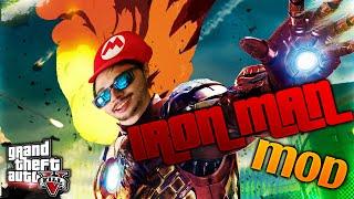 GTA 5 Iron Man Mod Funny Moments! GTA 5 PC Mods Gameplay in PC. Grand Theft Auto: Iron Man in GTA!