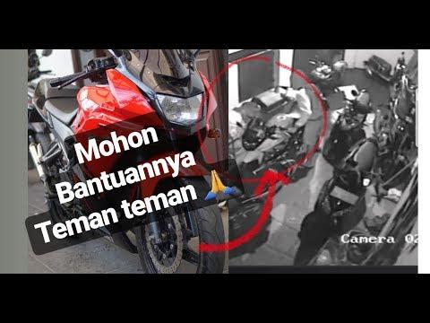 Ninja RR Hilang kerekam CCTV