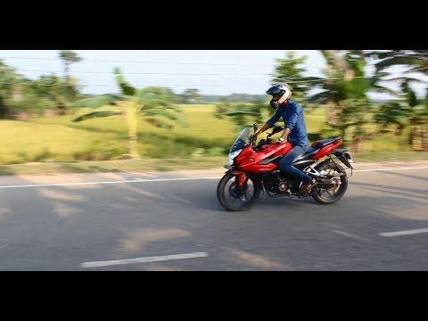 মোটরসাইকেল যায়গায় ব্রেক করার নিয়ম How to emergency brake on a motorcycle