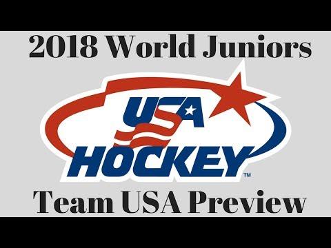 2018 WJC Team USA Preview