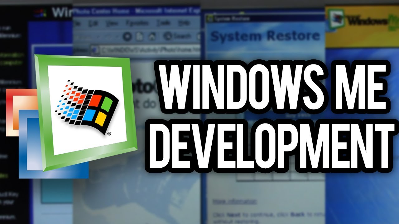 Download The History of Windows Me Development - How Bad Was It?