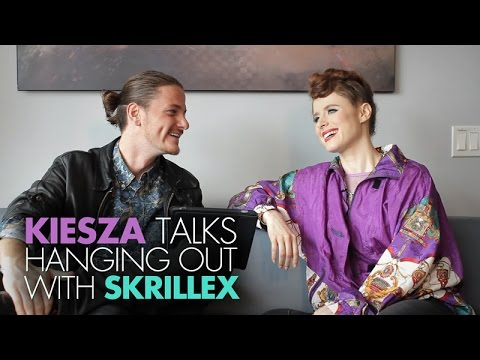 Kiesza Talks Hanging Out With Skrillex & How She Creates Her Signature Hairstyle