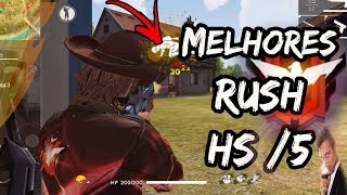 MELHORES JOGADAS FREE FIRE 2019 [ HIGHLIGHT ] #5 GARU - COVER WAG2.Polo - BEST SMG's MP40