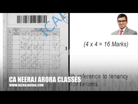 How ICAI Give Marks In Auditing & Assurance | How A Student Score 72 Marks?
