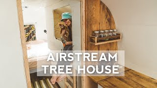 Airstream Tree House Build | It's Looking SO Good!