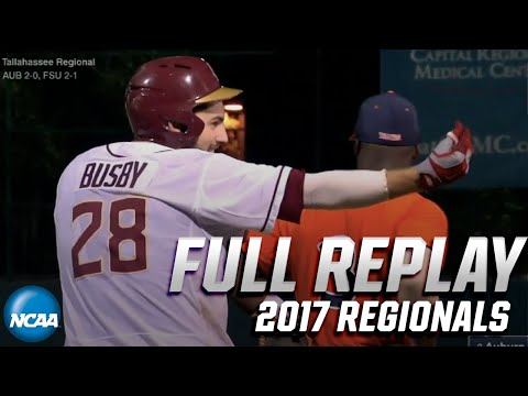 Florida State Vs. Auburn: 2017 Tallahassee Regional | FULL REPLAY