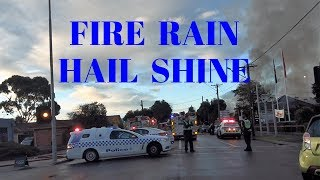 Street Scrap Blues, Not much out there, Rain, Hail & Fire