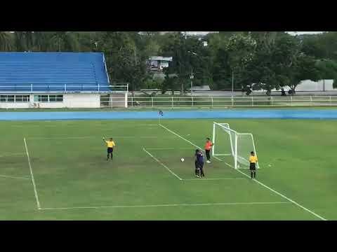 Bangkok Sports Club vs Satri Angthong crazy penalty!