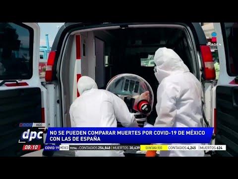 López Obrador pide no comparar muertes de Covid-19 en México con España y Francia