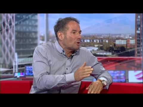 Derek Hatton rants on BBC North West Tonight