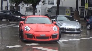 [PBSS`17] Puerto Banus Supercars Spotting 7 ( 4xGT3RS playing in the rain )