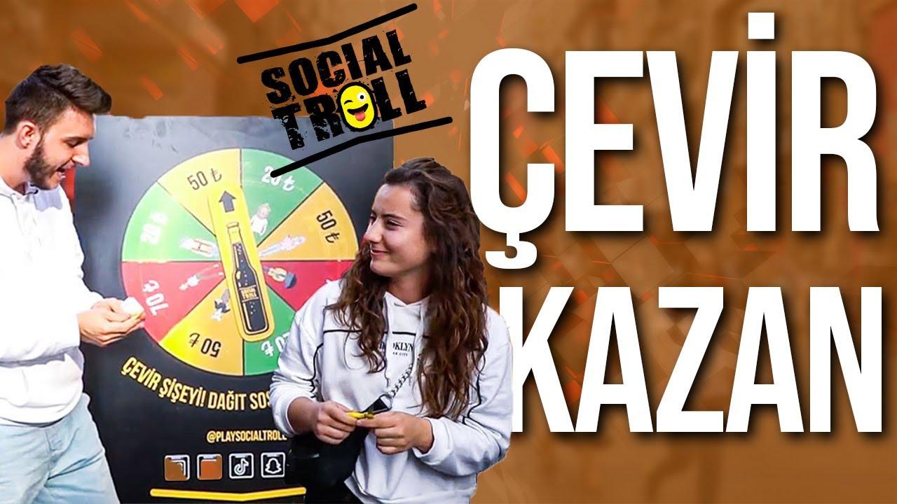 ÇEVİR - KAZAN !! | 50 TL İÇİN SAÇLARINI KESTİ  !! |