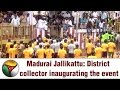 Jallikattu At Sakkudi, Madurai With The District Collector Inaugurating The Event video