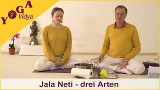 Nasenreinigung im Yoga - Drei Arten von Jala Neti Nasenspülung 1